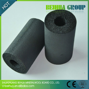 Round Foam Rubber Thermal Insulation Tubing For Copper