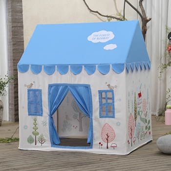 Dolce Ultime Outdoor 100% Tela di Cotone Bambino Woodframe House Bed