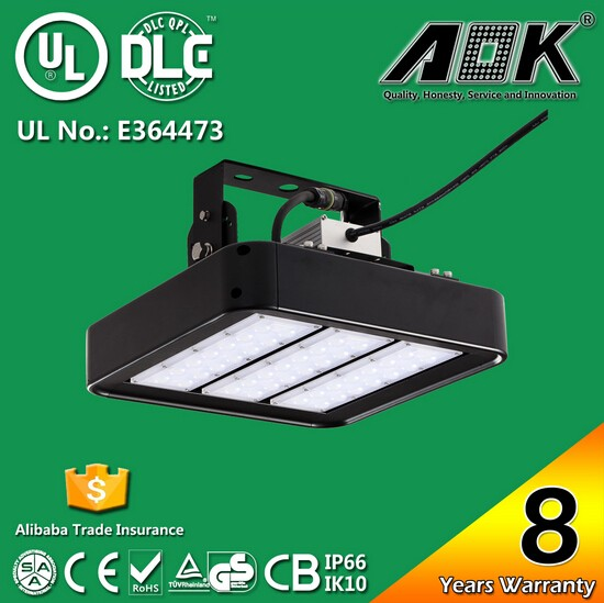 UL DLC Listed LED high bay light housing 150w, Warehouse high bay fixtures Industrial Low Bay Light
