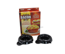 Microwave plastic baking bowl for making the bacon bowls 2 / Pack