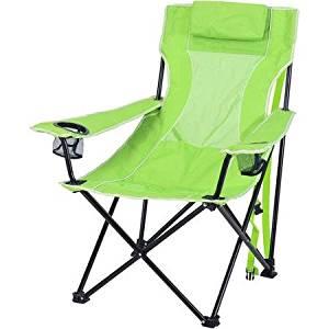 Ozark Trail Steel Frame Oversized Mesh Lounge Chair Lime Green