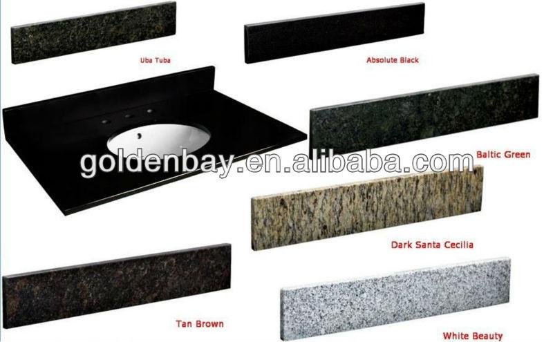 Natur granit waschtischplatte mit unterbaubecken schiefer ... | {Waschtischplatte schiefer 89}
