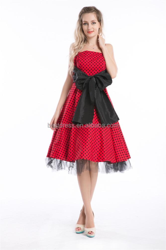 Ретро вечеринка платья