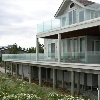 High Quality Outside Aluminum Deck Glass Railing - Buy Deck Glass  Railing,Glass Panel Deck Railing,Deck Railing Glass Product on Alibaba com