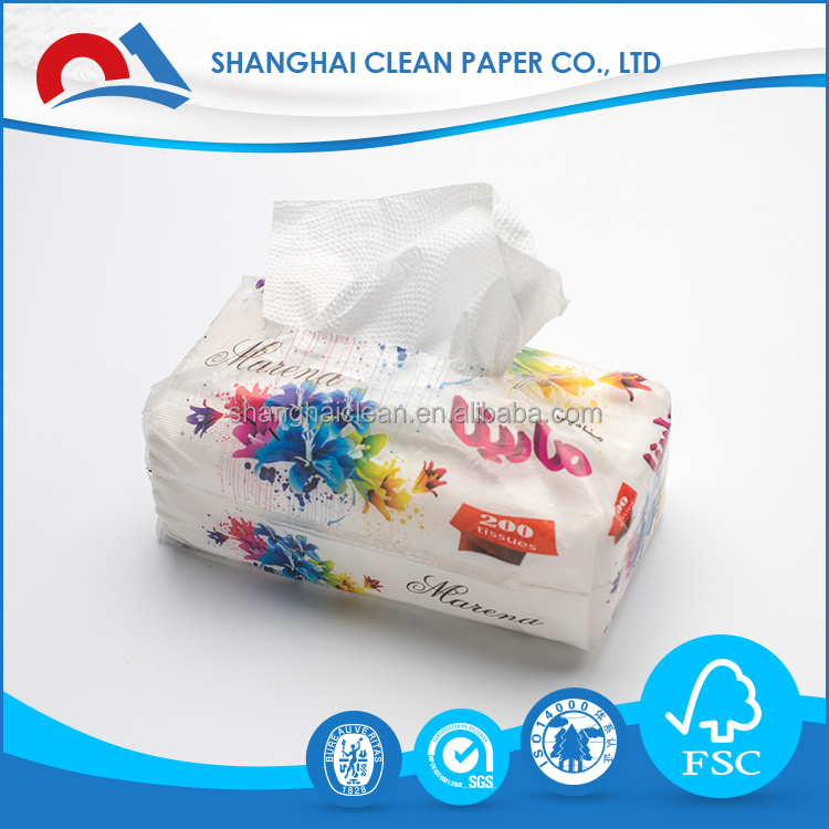 Bamboo Facial Tissue Paper Super Soft China Wholesale Oem Factory Facial Tissue Paper