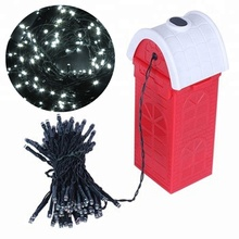 CE RoHS FCC Goedgekeurd Zout Water Aangedreven Oplaadbare Multicolor LED Kerstboom String Lights met outdoor decoratie