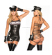 Sexy police uniforms temptation policewoman halloween costume