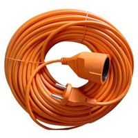 2 pin extension cord, Europe power cord water proof cord with 16A 2pin plug