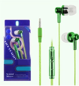 High Quality Sound Cheap Fashion OEM Wired Earphone In Ear, Hot Selling Wired Headphone