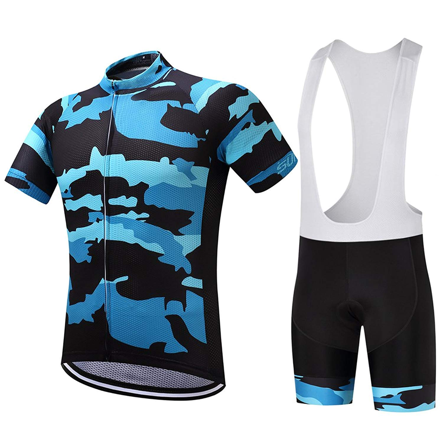 70e708a81 Get Quotations · Bike Cycling Jersey Sets Road MTB Bicycle Clothing Bike  Cycle Wear Bib Suits