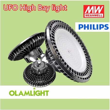 Meanwell Driver 80-240W Led Industrial High Bay Light UFO