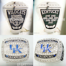 Kustom Replika <span class=keywords><strong>2012</strong></span> University of Kentucky Wildcats kejuaraan basket cincin