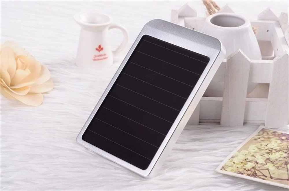 Borch Solar Panel Charger Cell Phone Portable Charger 2600mah Power Bank and Travel Charger. Utilizing Both Solar And/or Electrical Energy to Fully Charge Wireless Devices on the Go. Freedom to Travel Anywhere with the Borch Solar Power Charger. External Battery Pack Compatible with Iphone 6 5.5