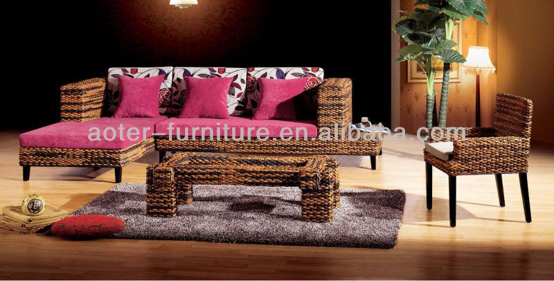 Moderno divano in vimini rattan divani di soggiorno id - Divano in vimini ...