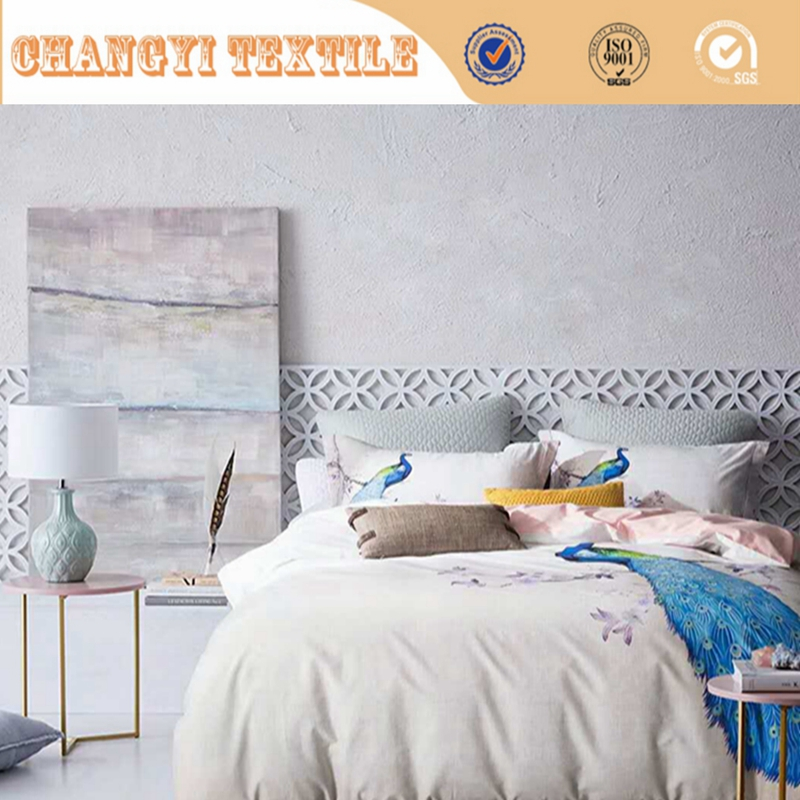 3d luxury duvet cover set / 3d fabric printing for bedding sets / digital print bedding sets
