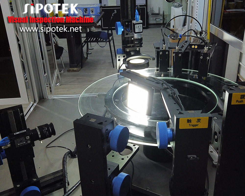 Sipotek CCD Camera Industrial Equipment For Silicone Rubber Defects External Inspection