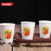 logo print double coffee paper cup coffee paper cups for milk tea