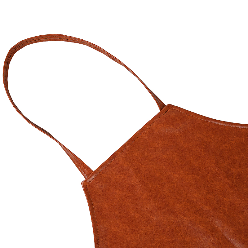 Custom Leather Restaurant Kitchen Cooking Apron Carpenter Apron