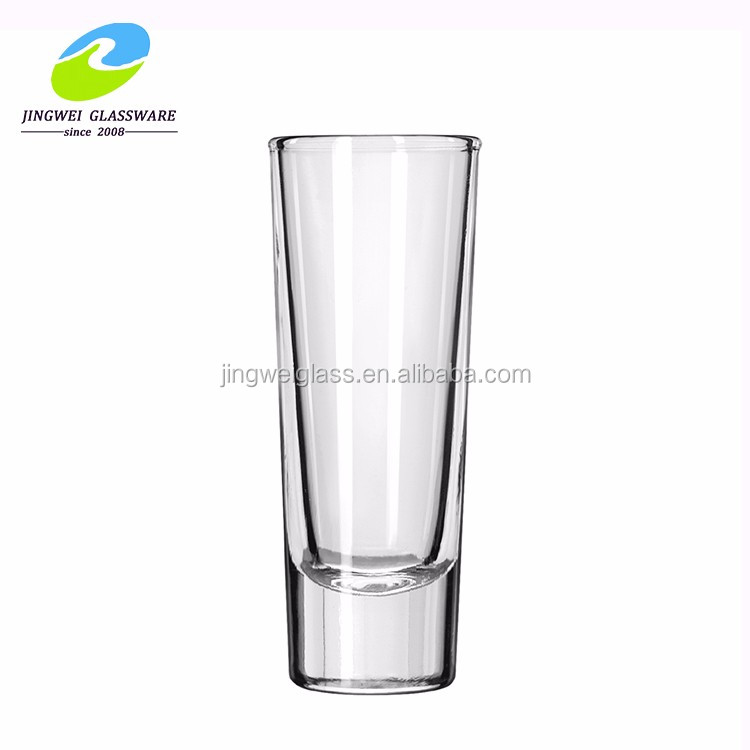 Wholesale 60ml souvenir custom bullet mini wine glass shot glass