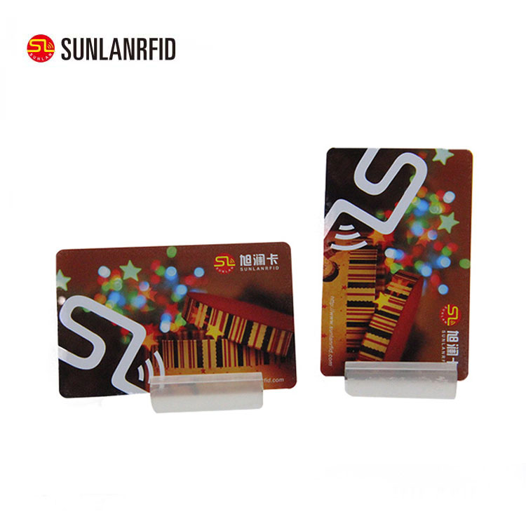 Sunlanrfid Free Sample Contactless Smart Rfid 13.56mhz HF NFC ISO14443A MIFARE Plus S 2k PVC Card