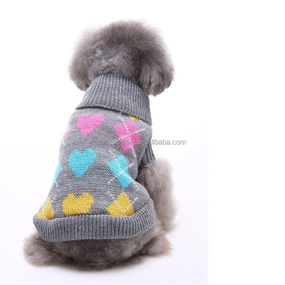 Atractivo Patrón De Ganchillo Para El Suéter Perro Molde - Ideas de ...