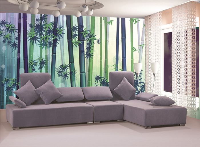 Lowest Price Bamboo Wallpaper stylish nature decorating walls Decoration