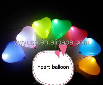 Wedding Decorations Led Balloon Lights For Lovers