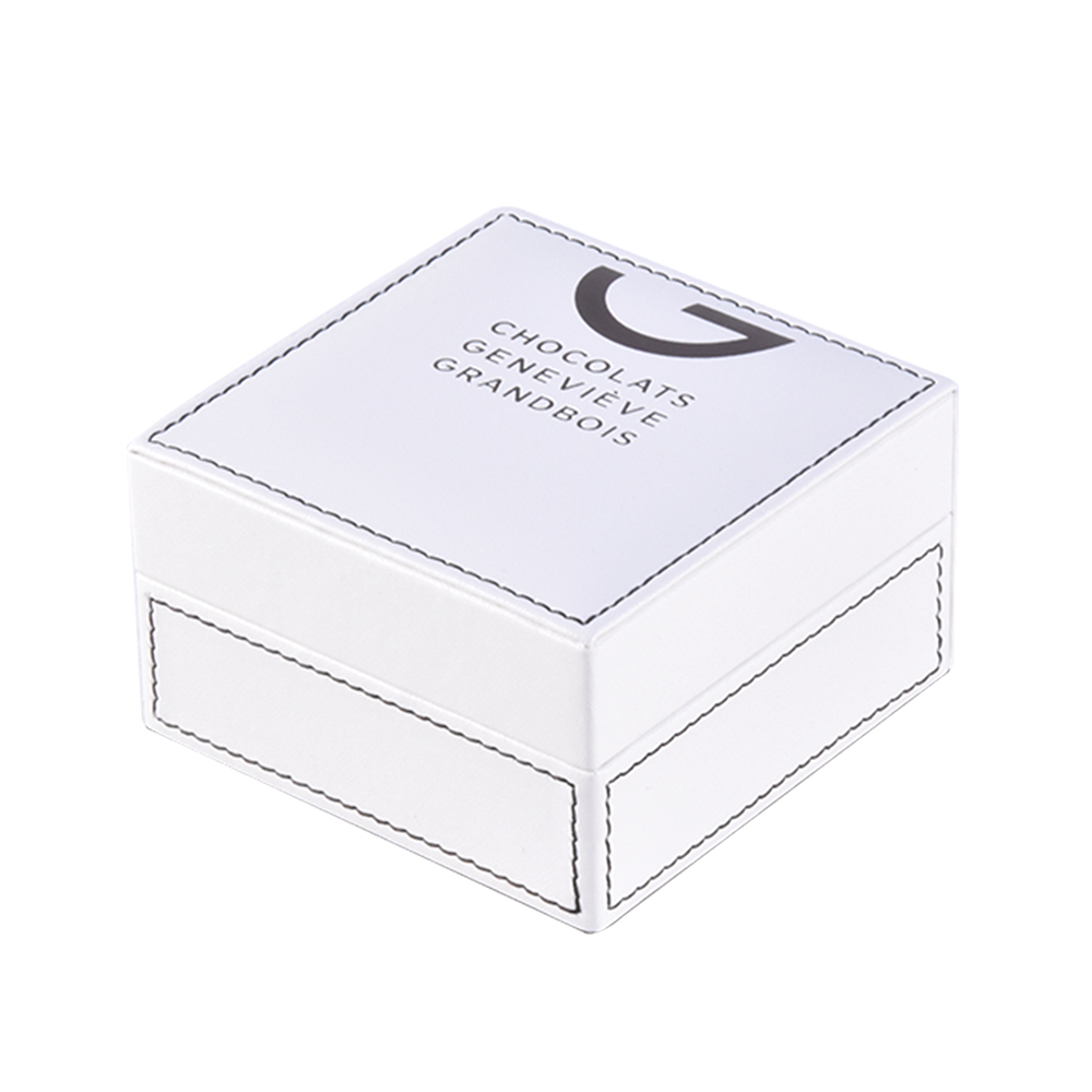 High-end custom logo luxury leather small gift packaging/storaging box gift box