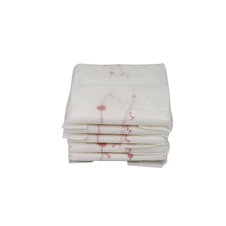 245mm en fibre de bambou naturel serviettes hygiéniques super absorbantes