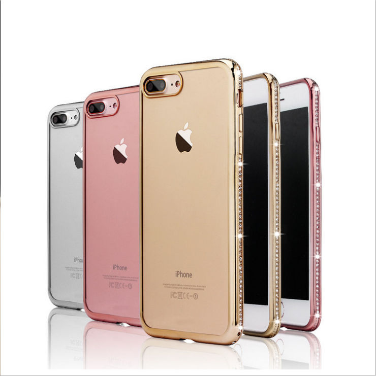 gold gel iphone 8 case