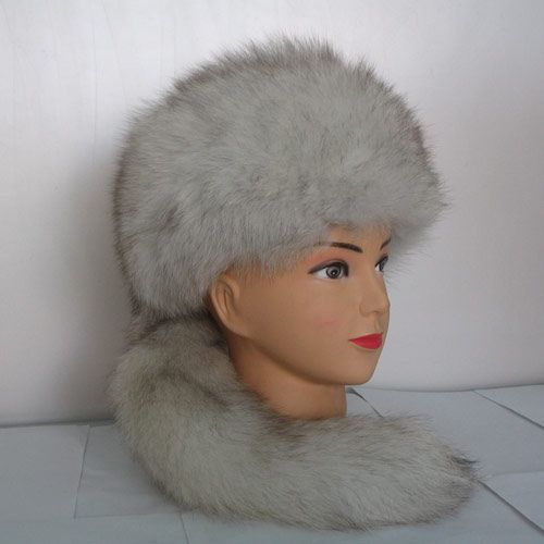 wholesale Russia female style warm hats real fox  fur hats