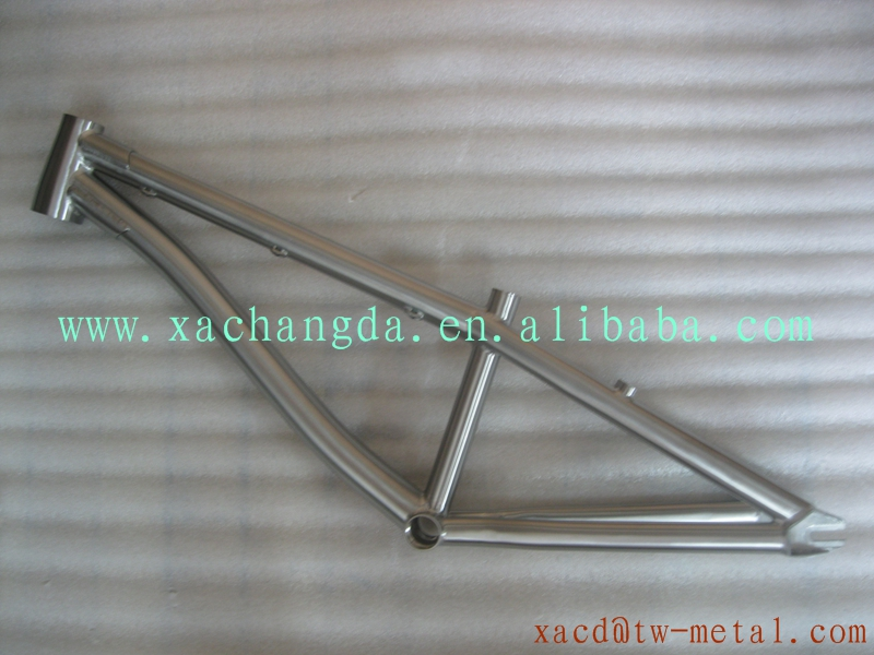Custom Titanium Cheap Bmx Bicycle Frame From China Factory Titanium ...
