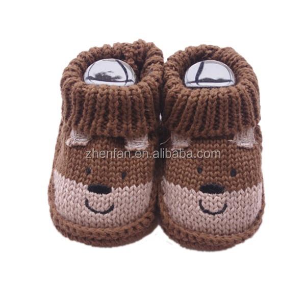 Schöne Tier Muster Handgemachte Gestrickte Winter Warme Infant Baby ...