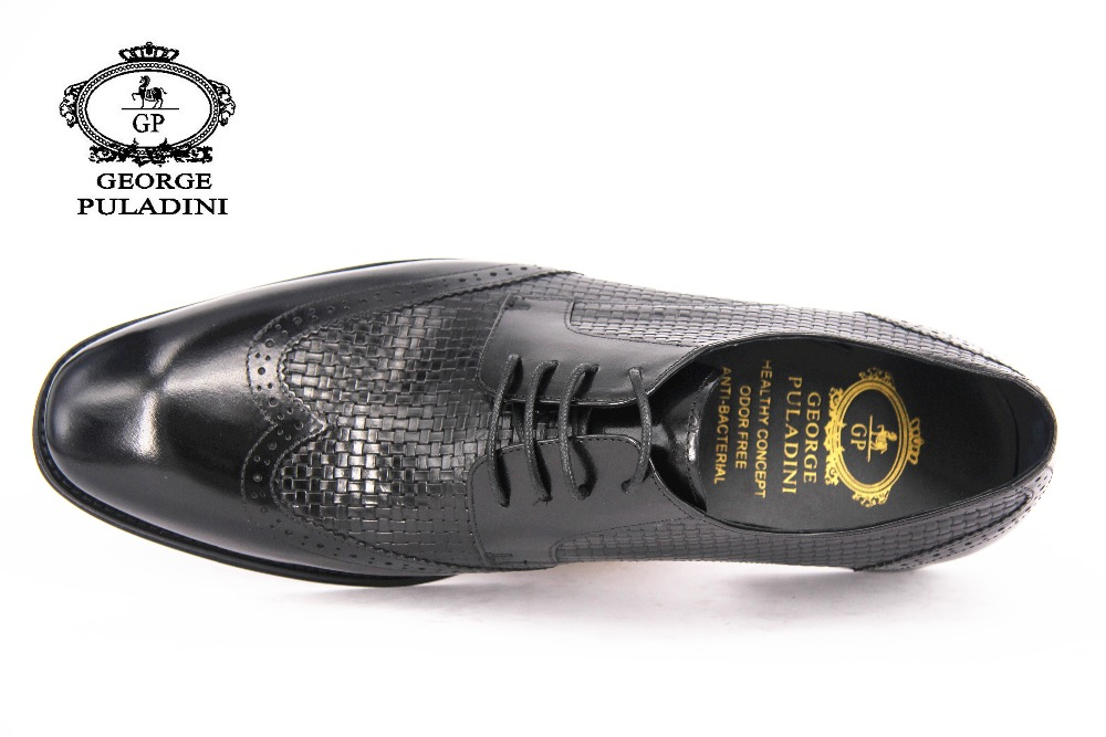 Shoes Dress Latest Leather men Wedding 2018 Design for BHIqX