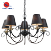 European Design Modern Farmhouse Used 5 Lights E14 Holder Bedroom Lighting Chandelier