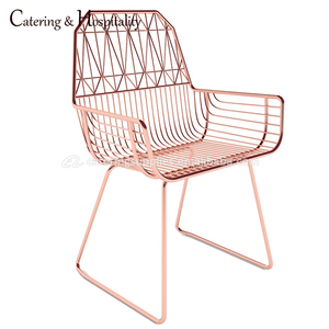 Strong Metal Wire Chair Iron Lucy Chair, Steel Wire Chairs