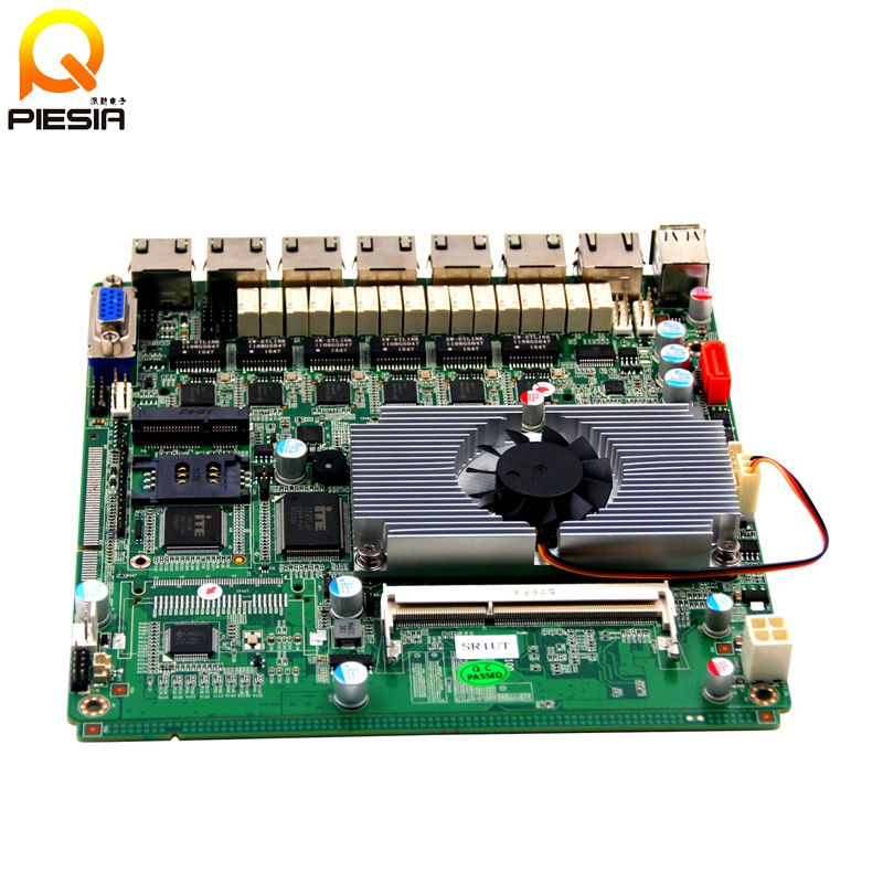 factoty price x86 6 lan lvds mini itx motherboard with watchdog timer and gpio