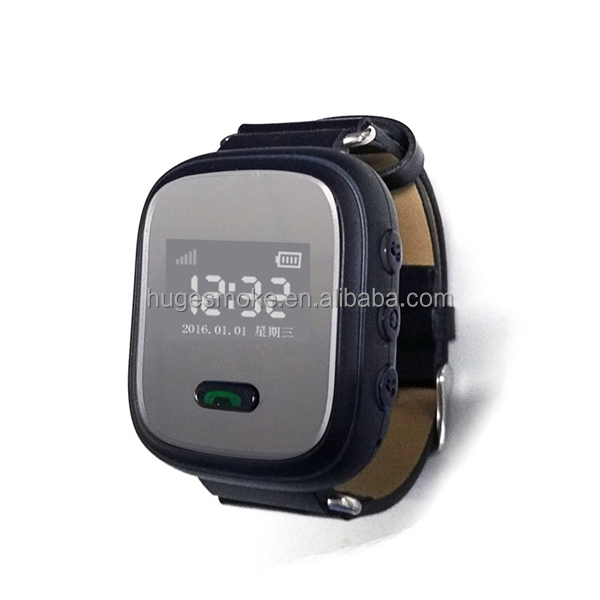 Elderly GPS watch tracker Q803 D99 A16 support GPS+LBS positioning GPS watch for the old