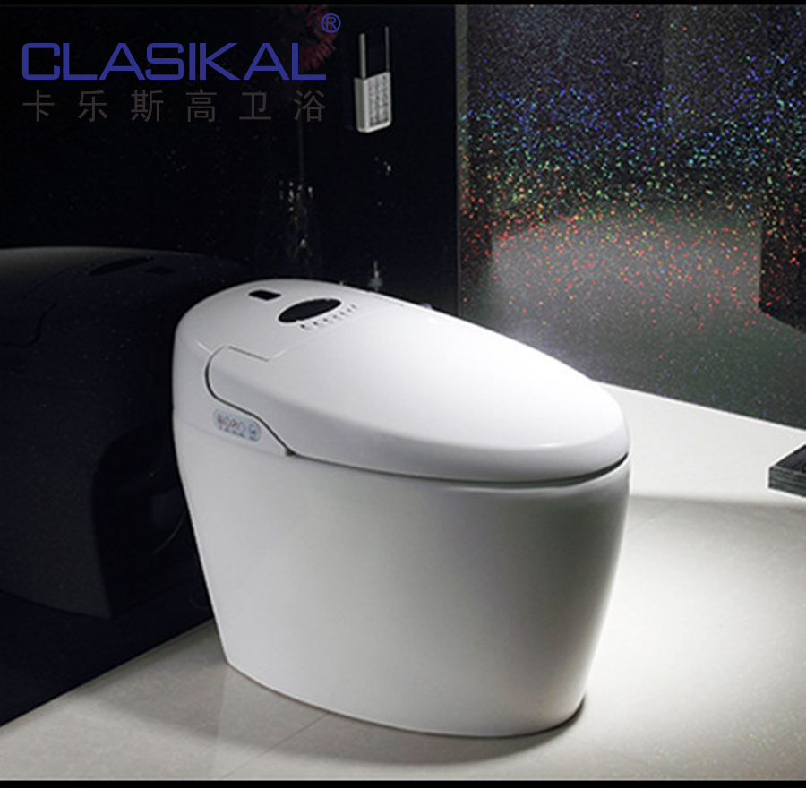 Smart Toilet With Auto Flush System One Piece Siphonic Intelligent ...