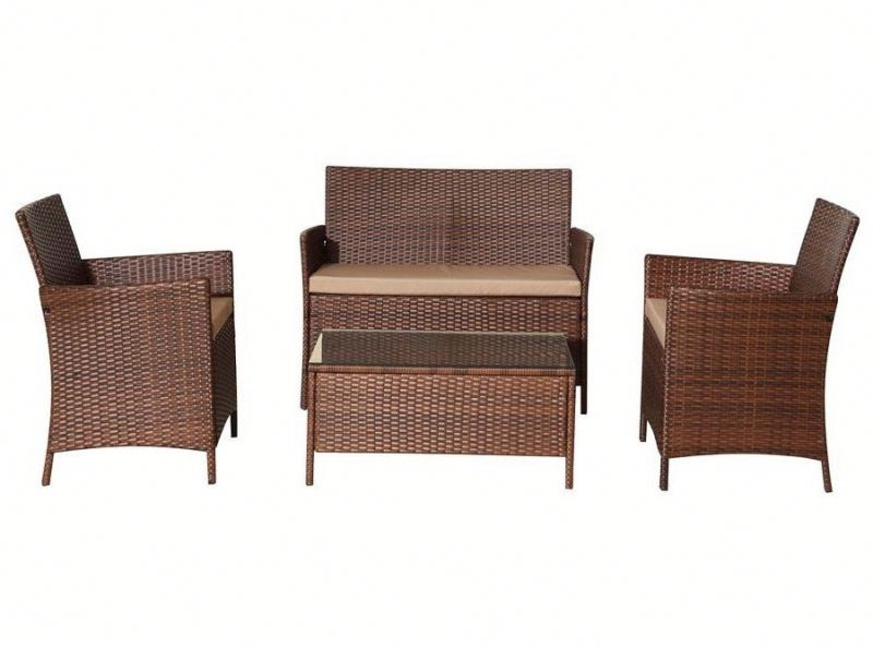 UV Resistant Luxury outdoor wicker garden furniture