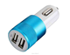 2.1A New Cannon cigarette lighter car charger dual USB car charger