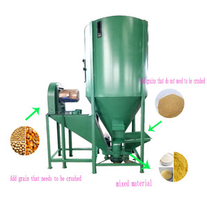 Weiwei farm machine back to basics grain mill automatic poultry feed mixer feeding