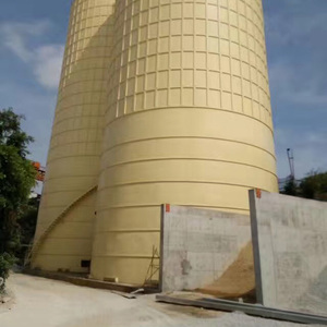 Cheap bolted small grain steel cement silo for sand