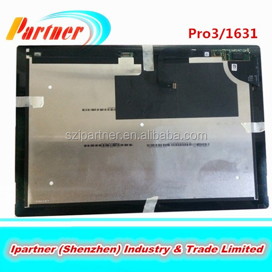 TOM12H20 V1.1 front panel For Microsoft Surface PRO 3 1631 LCD Display Touch Screen Digitizer Assembly