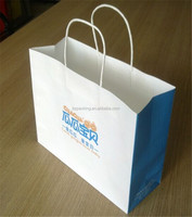 Ecofriendly handled reusable shopping bags with logo