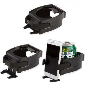 Car Drink Stand Mount Holder Air Vent Bottle Adjustable double suction cup phone holder