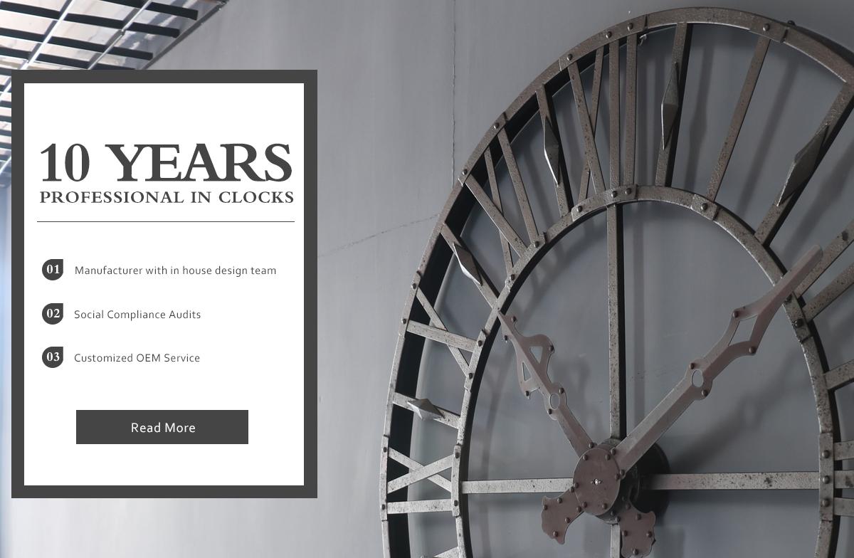 Minhou Homever Arts & Crafts Factory - antique clock, light box
