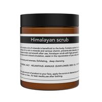 2018 Amazon Hot selling Skin Himalayan Pink Salt Scrub