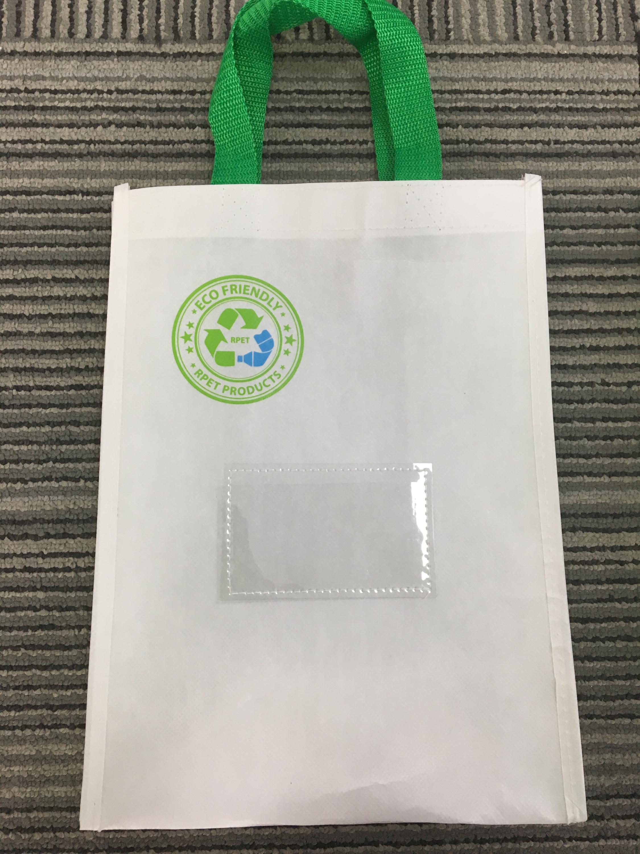 aa1b937eb1a Global Gerecycled Standaard Certificaat milieuvriendelijk rPET Tas van  Gerecycled Flessen rPET