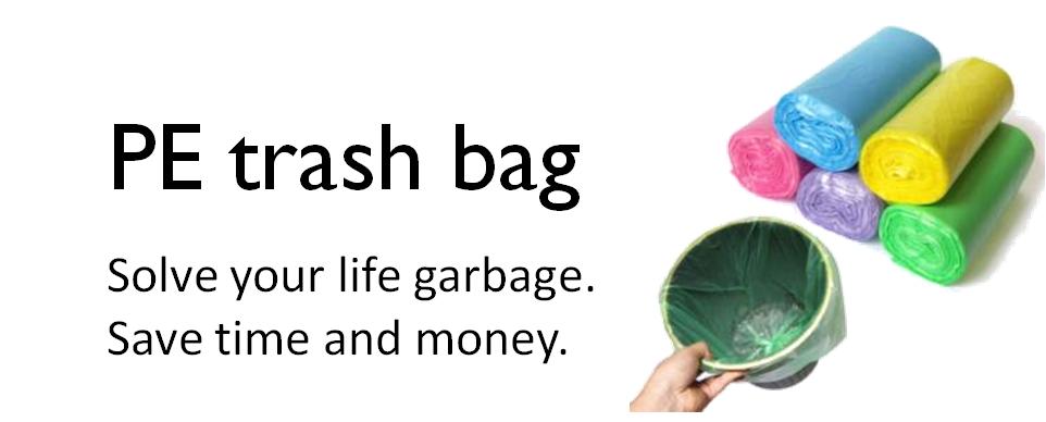 PE Water Proof Disposable Car Trash Bag